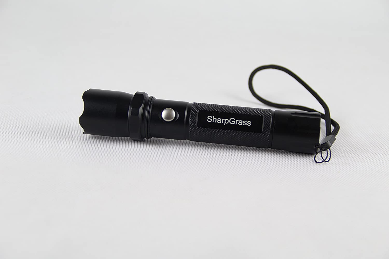 Sharpgrass Led Flashlight Portable 3 Light Modes 3w