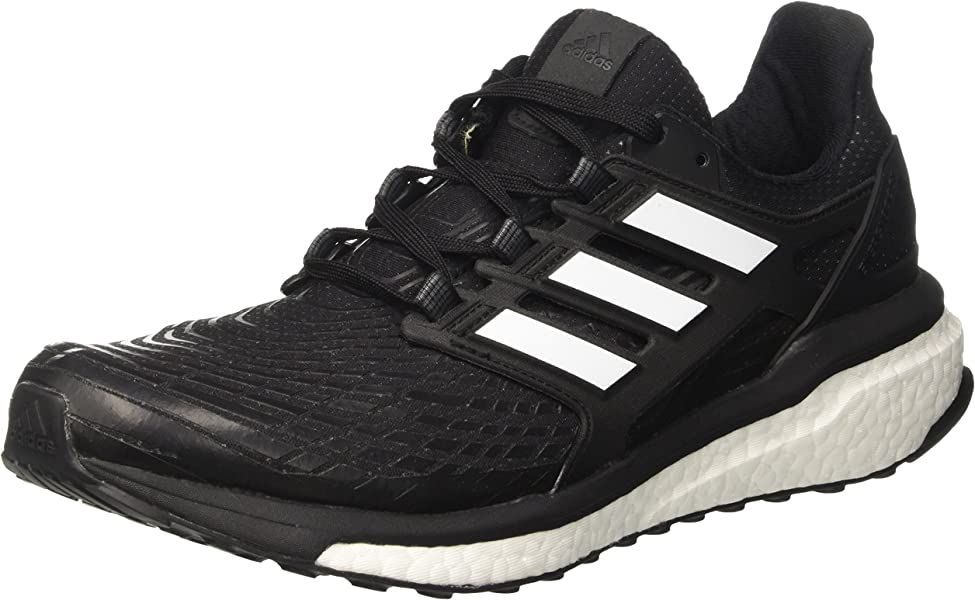 Adidas Energy Boost Men's Running Shoes Black, White CG3359