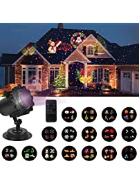 Christmas Lights Projector With 16 Slides