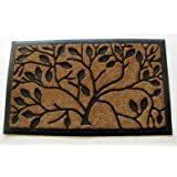 Geo Crafts Rubber Back Tree of Life Doormat, 24 x 39-Inch