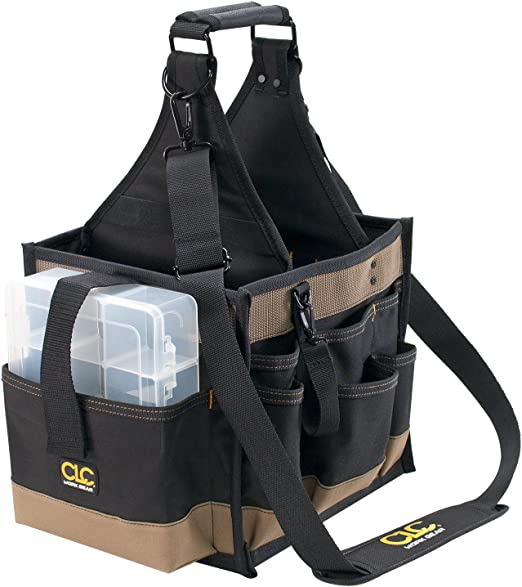 CLC Custom LeatherCraft 1528 Large Electrical and Maintenance Tool Carrier, 22 Pocket