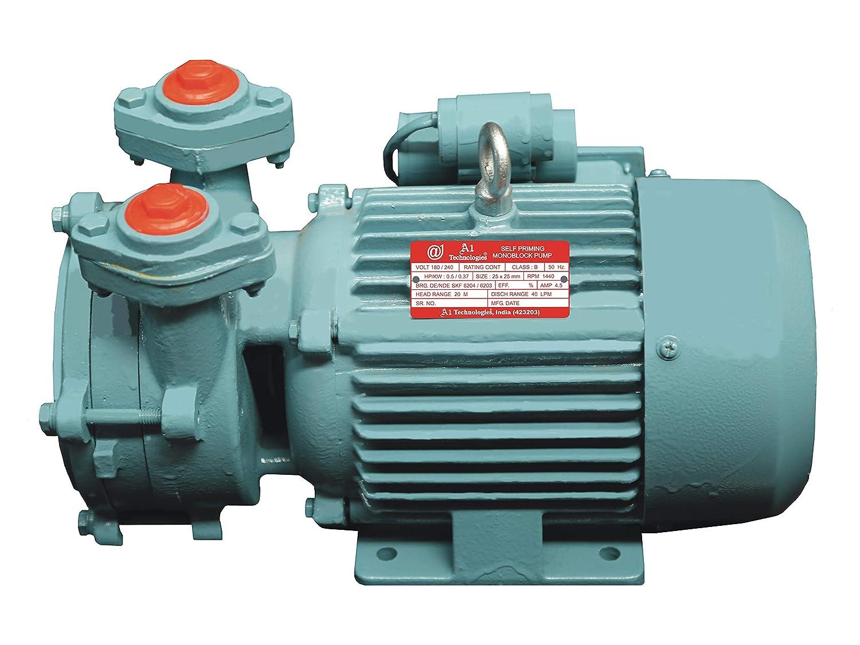 A1 TECHNOLOGIES Self Priming Monoblock Pump 3 5 Ampere
