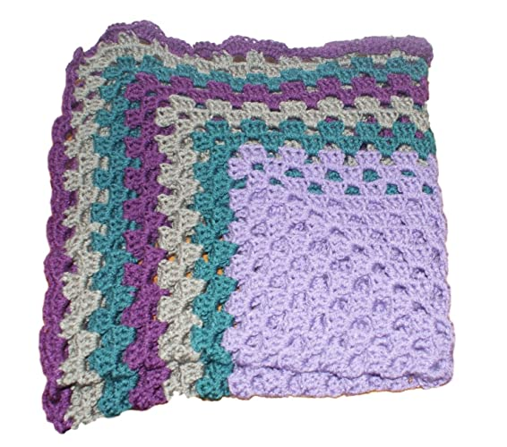Amazoncom Crib Afghan Crochet Baby Afghan Heirloom Blanket