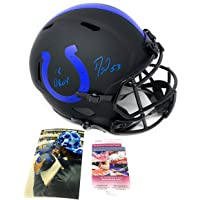 $249 » Darius Leonard Indianapolis Colts Signed Autograph Rare ECLIPSE Speed Full Size Helmet 2018 DROY INSCRIBED JSA Witnessed Certified