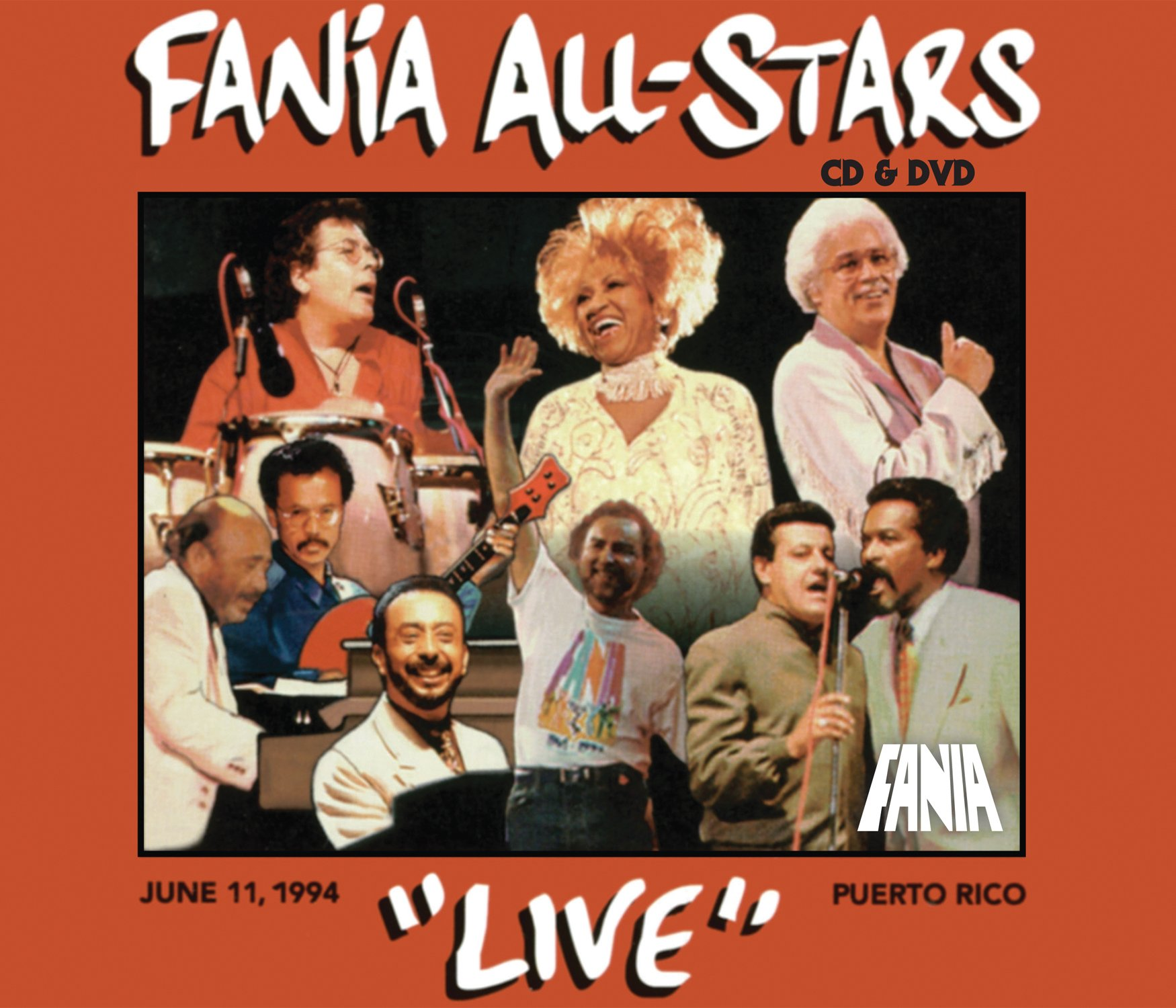 Live in Puerto Rico 1994 by FANIA RECORDS