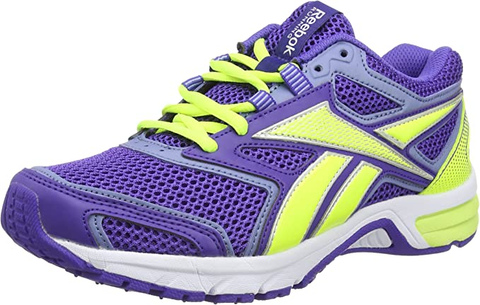 Reebok Pheehan Run 2.0 TX - Zapatillas de Running para Mujer, Color Morado/Amarillo/Blanco, Talla 40: Amazon.es: Zapatos y complementos