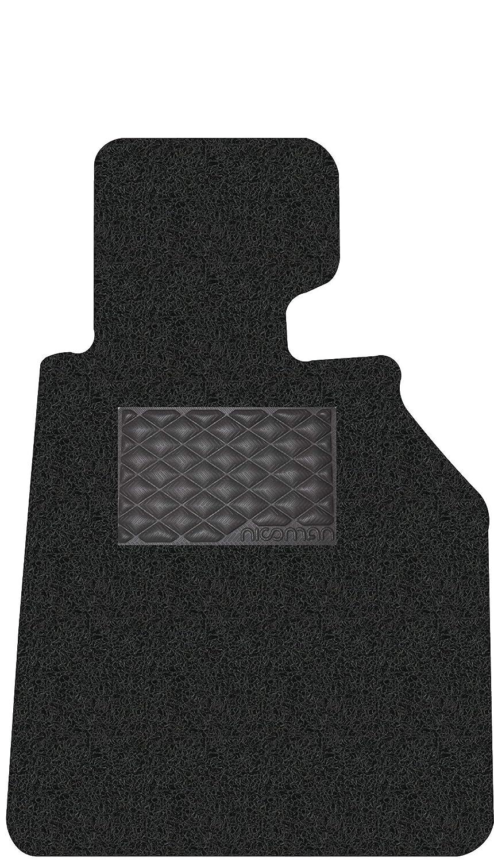 BMW Driver Side 1-Piece,Black Nicoman 8-MM-C4949-BMW-3er-F30//F31-Sal//Est-BK-DR Spaghetti All-Weather Fully Tailored Car mats Fit【 3-Series Saloon//Estate F30//F31 Year 2013-2018】