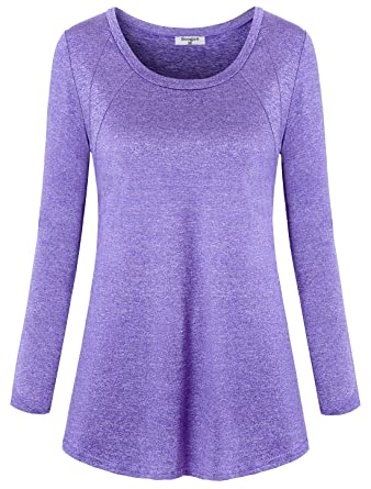 d79e9dc8d Soogus Women's Yoga Tops Long Sleeve Activewear Dry Fit Running Workout  Shirts