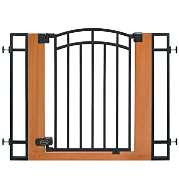 Amazon Com Summer Infant Wood And Metal Walk Thru Gate Brown