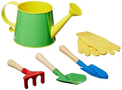 5 Piece Small Garden Tools Set,color May Vary