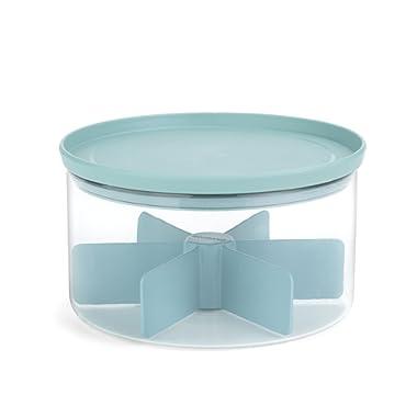 Brabantia Glass Tea Caddy - Mint Green