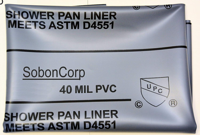 Amazon Com Shower Pan Liner Kit 6x10 Home Improvement