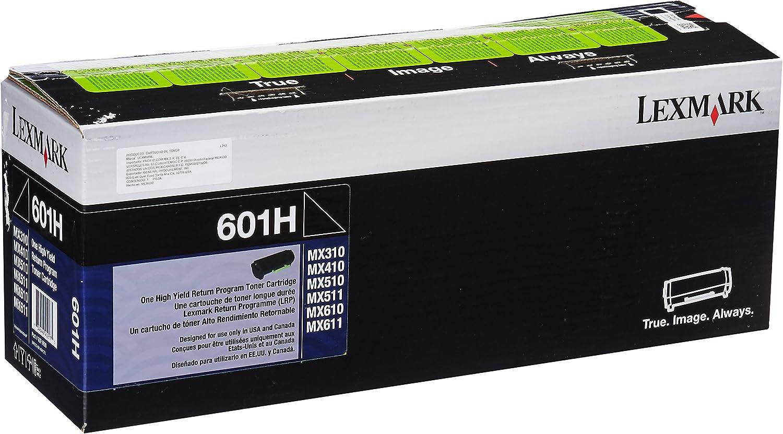 Lexmark 60F1H00 (LEX-601H) Toner, 10000 Page-Yield, Black