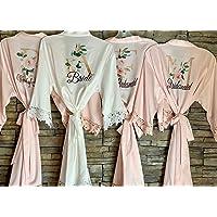Bridal Party Robe Bridesmaid Robes Bridal Party Gifts Custom Name