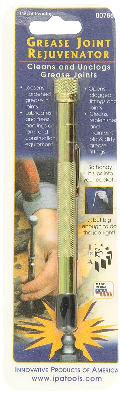 Innovative Products of America 7864 Pocket Model Grease Joint Rejuvenator Tool IPA Tools