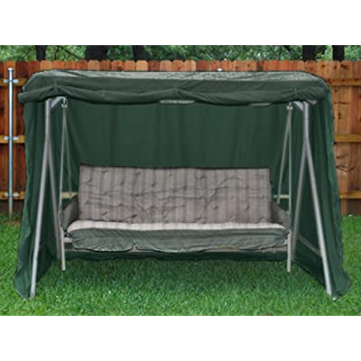 Covermates – Canopy Swing Cover – 86W x 50D x 70H – Classic – 12-Gauge Vinyl – Rustproof Zipper and Grommets – Mesh Vent for Breathability – 2 YR Warranty – Weather Resistant - Green : Garden & Outdoor
