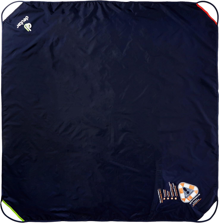 Navy-Granite Deuter Gravity Rope Bag Drawstring Bag 48 cm Blue