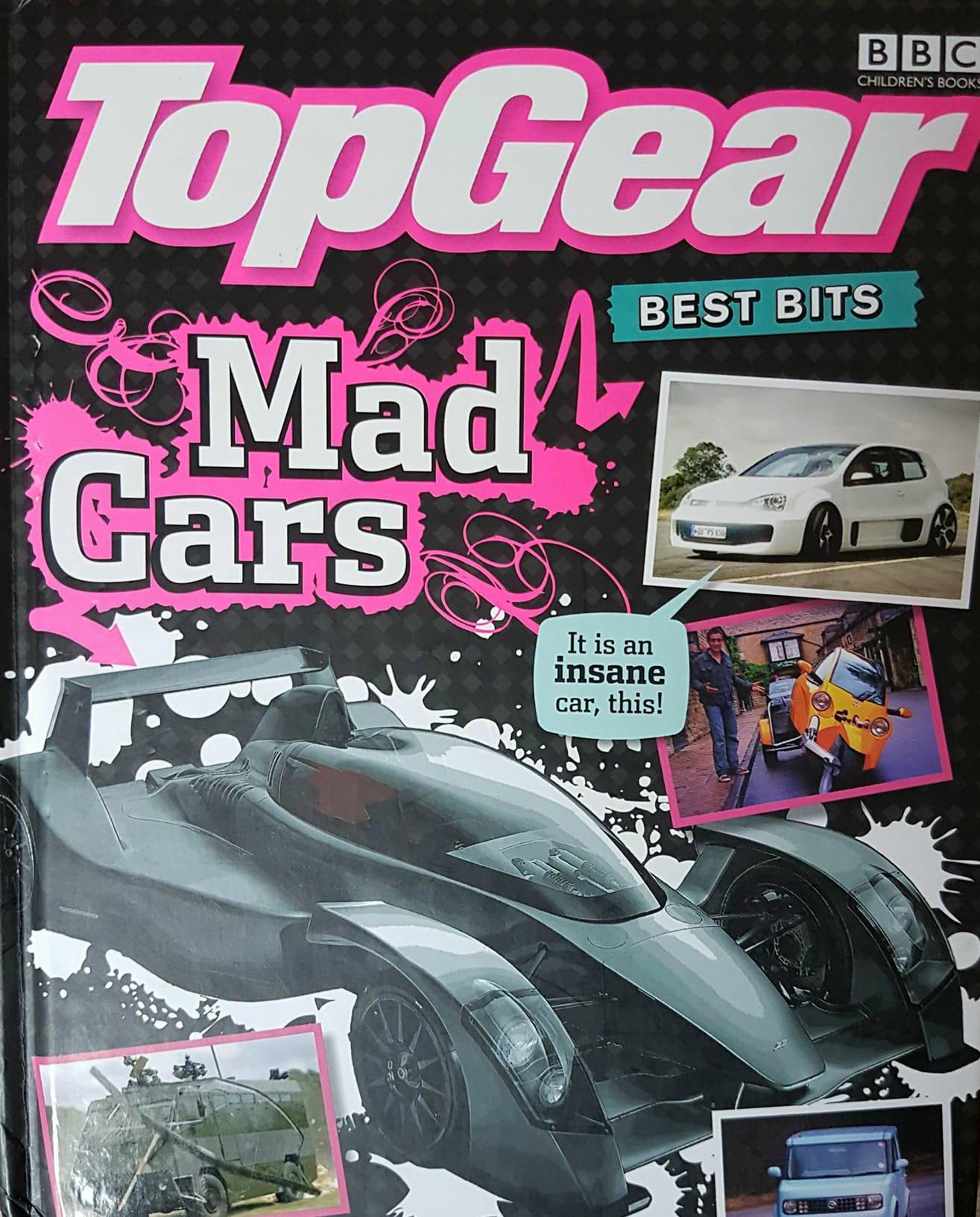 Top Gear: Best Bits Mad Cars: Amazon.es: BBC Books: Libros en idiomas extranjeros