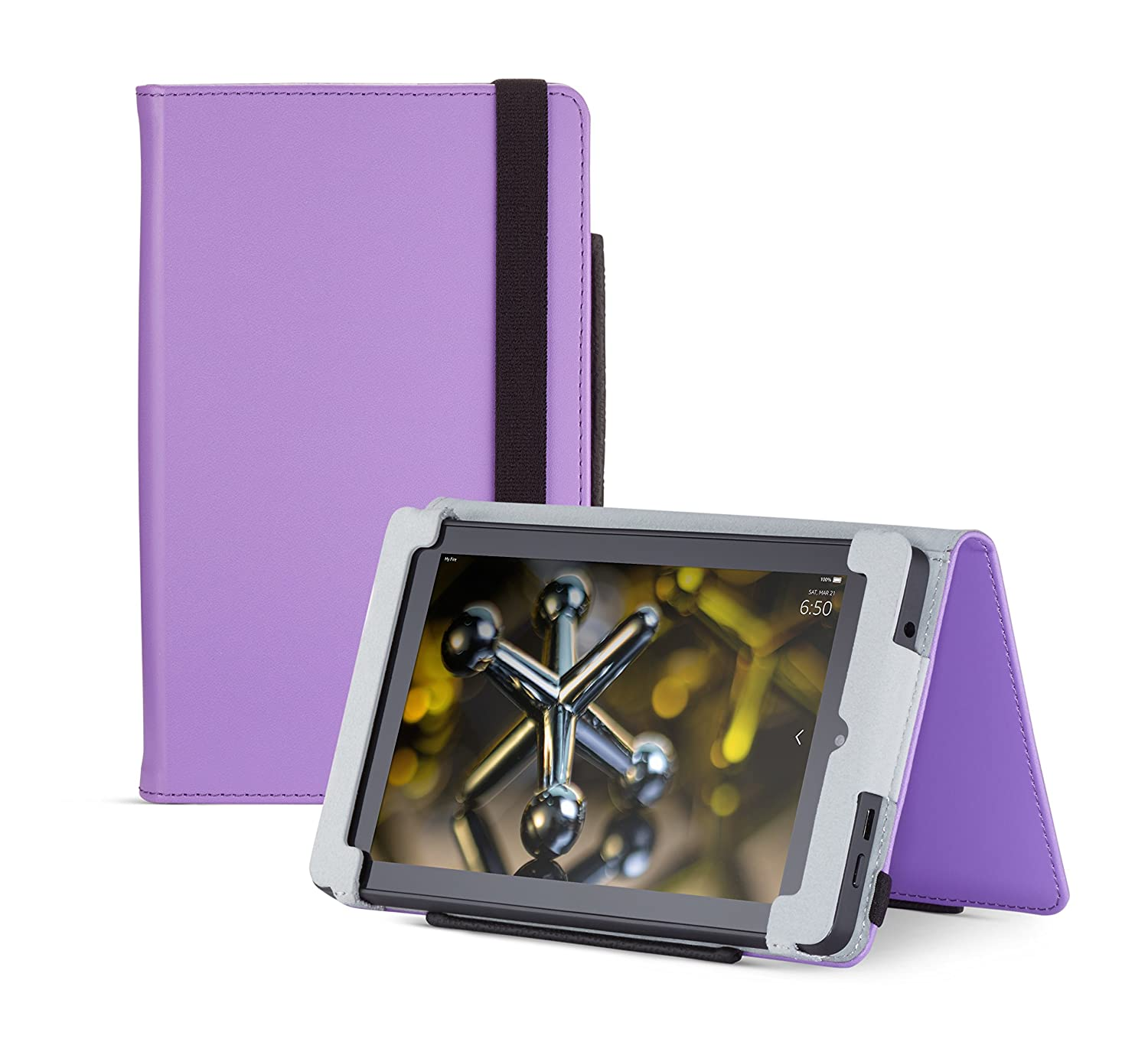 4th Generation Purple Standing Protective Case for Fire HD 6