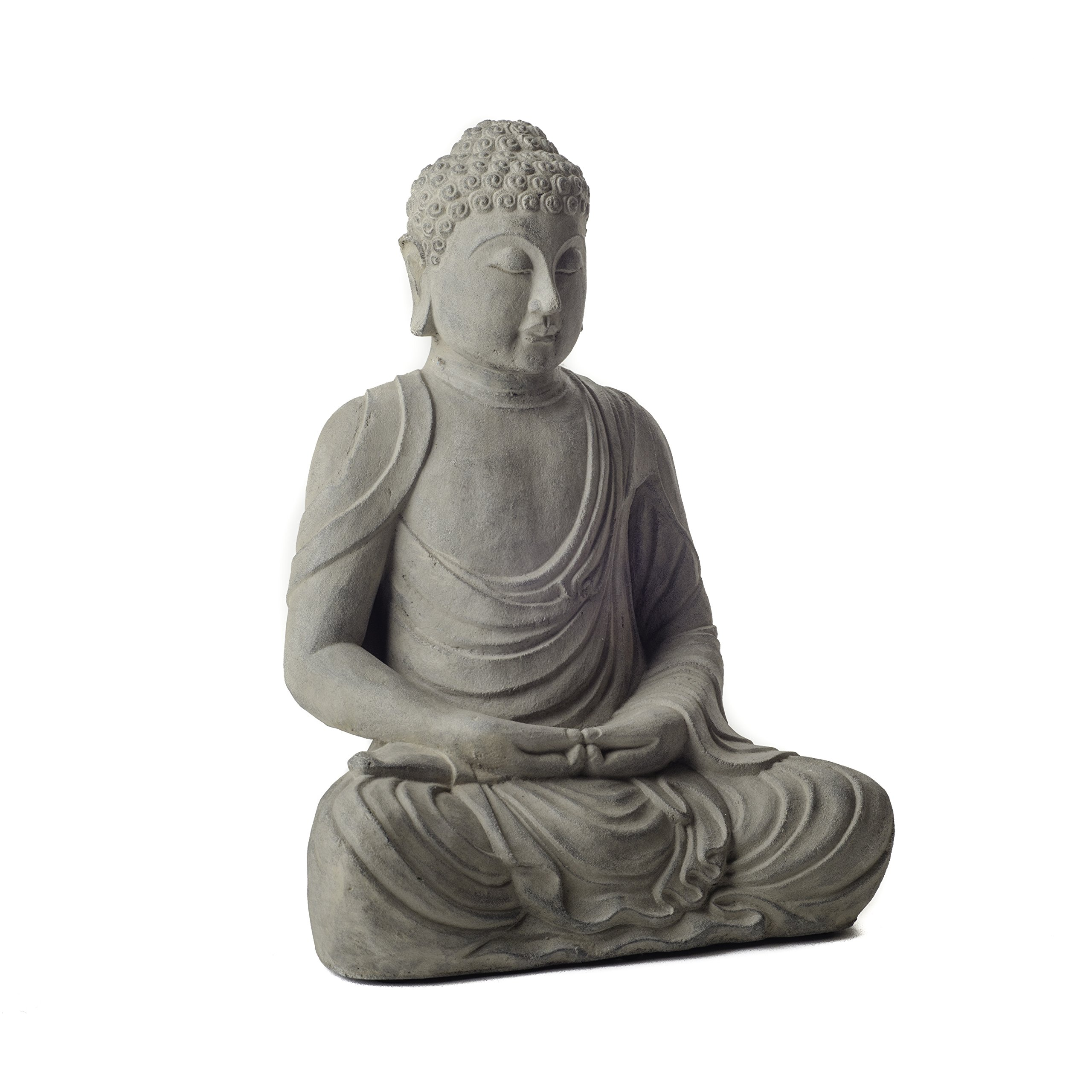 Repose ST10201758 Reflecting Buddha Outdoor Statues by Repose