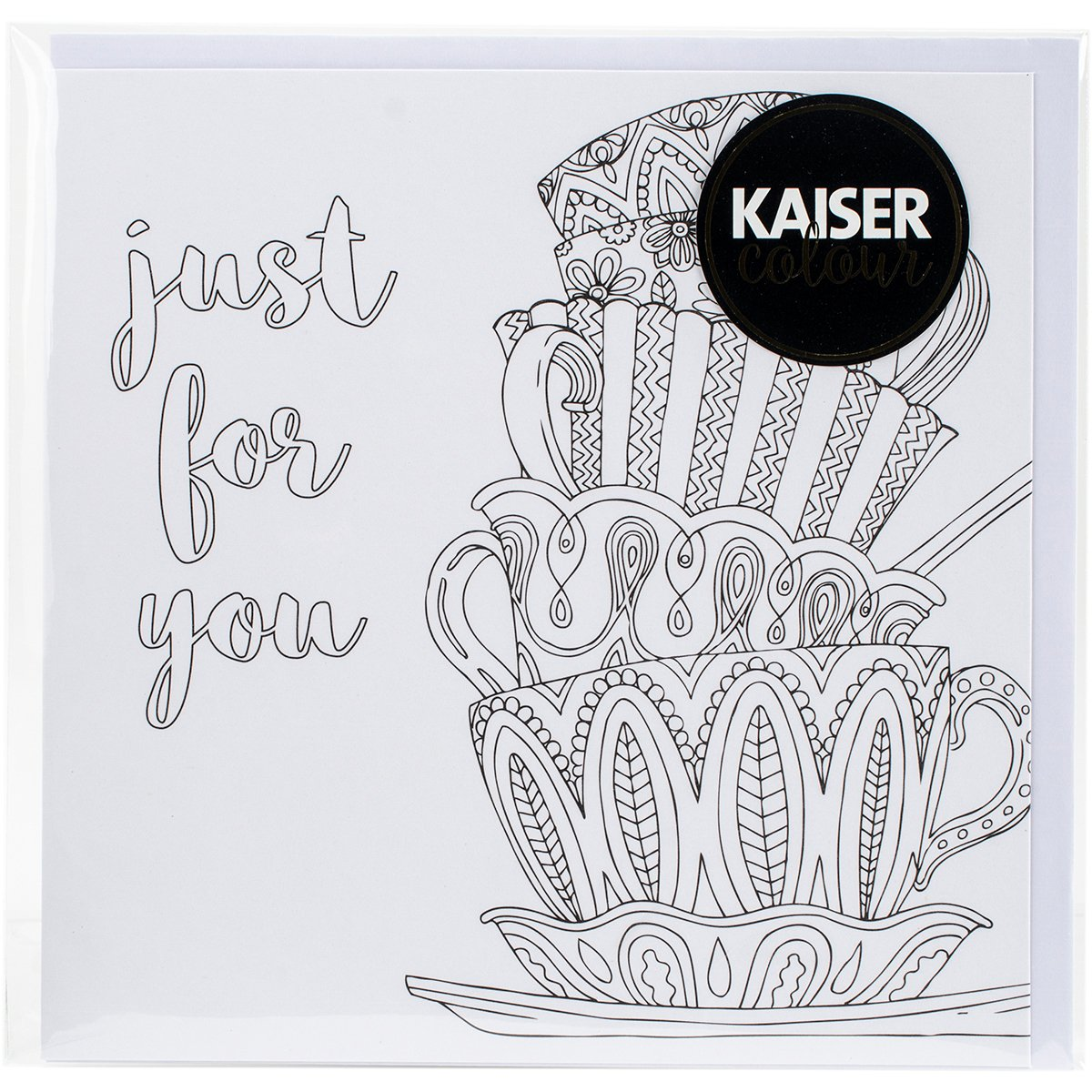 Kaisercraft'Just for You KaiserColour Gift Card with Envelope 6' x 6'