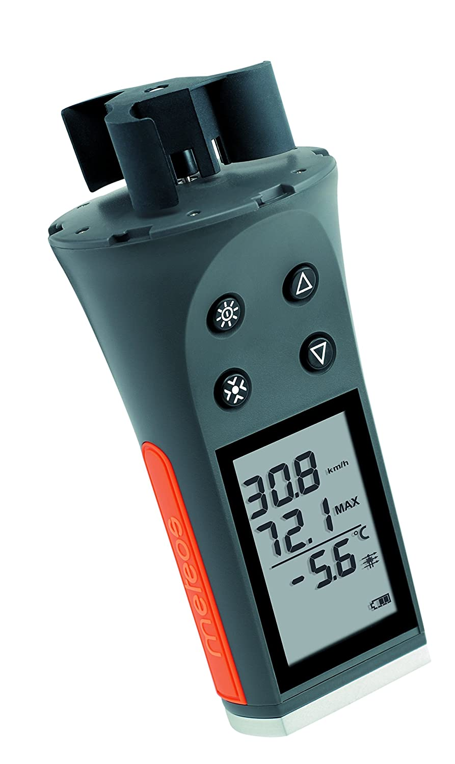 Skywatch JDC Meteos Windmesser in grau/orange