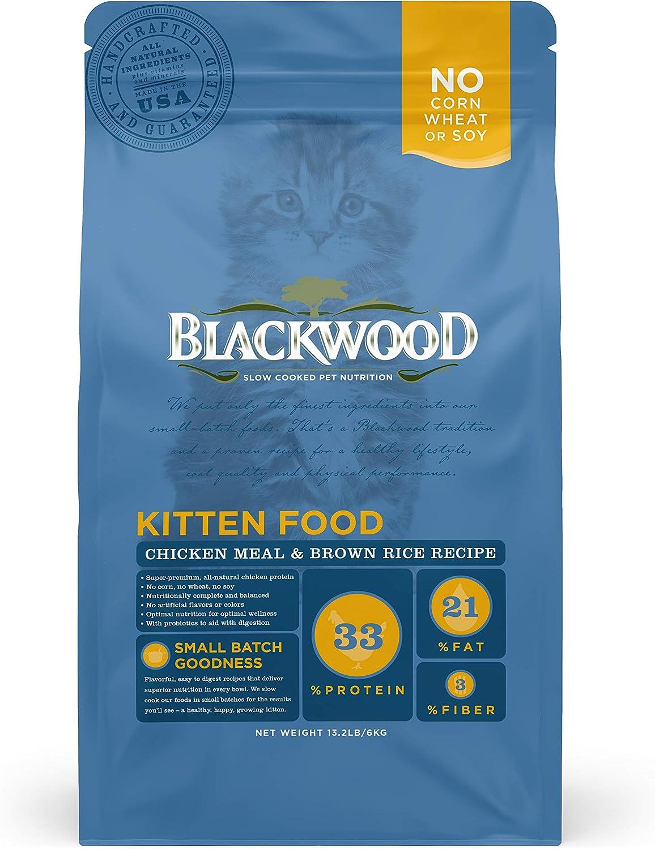 Blackwood Pet Food Kitten Food, Chicken Meal & Brown Rice Recipe