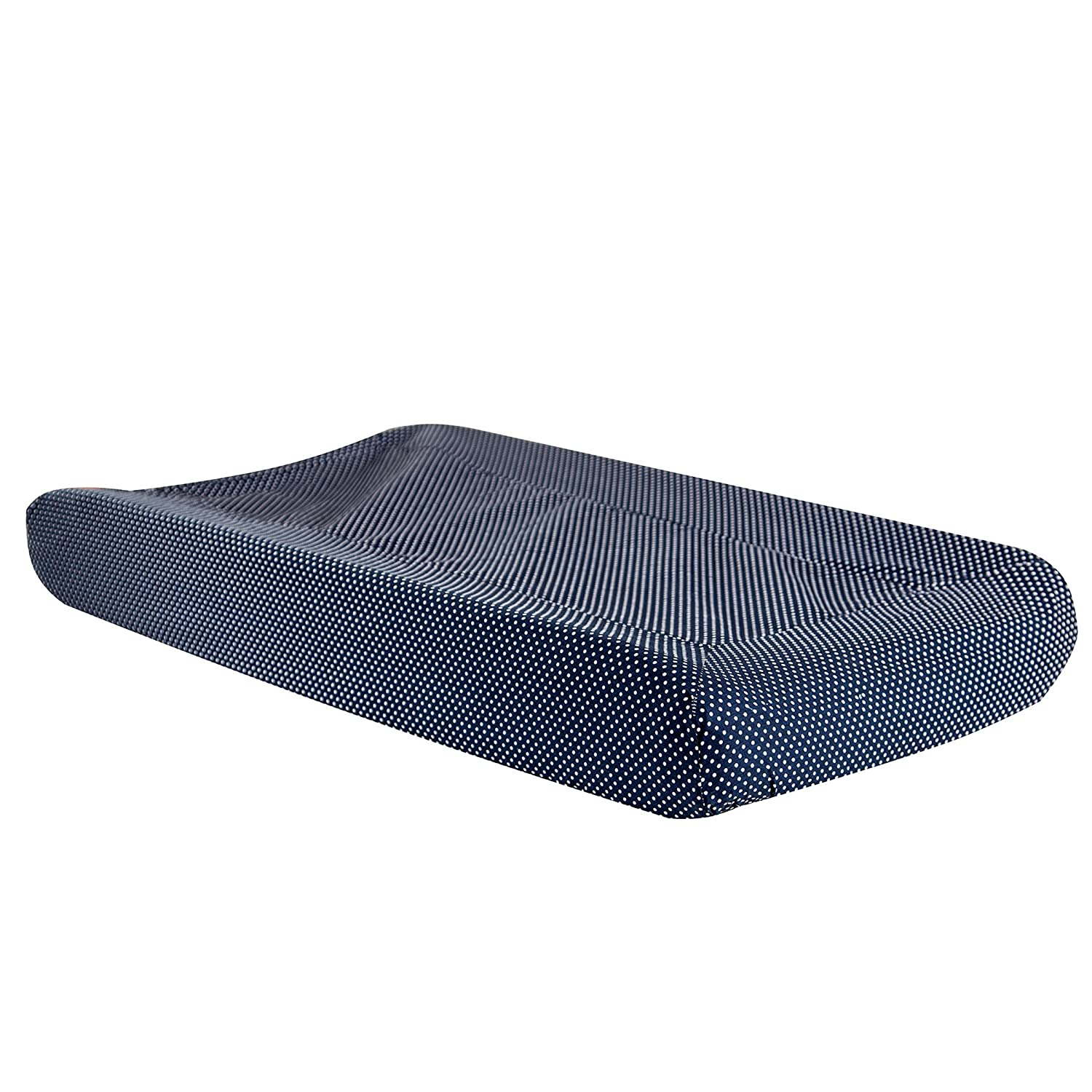 Trend Lab Perfectly Navy Mini Dot Changing Pad Cover 100774