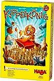 HABA 303661 – KippelKing的游戏游戏,带简单的规则,适合快速游戏乐趣家庭游戏,配有大量的木质游戏材料和4岁以上游戏。