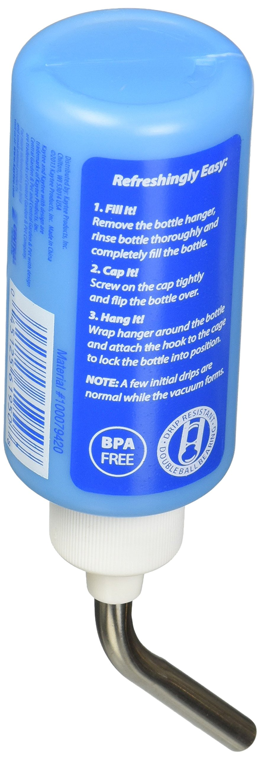 Superpet (Pets International) SSR100079420 12-Pack Critter Canteen Water Bottle Display, 4-Ounce