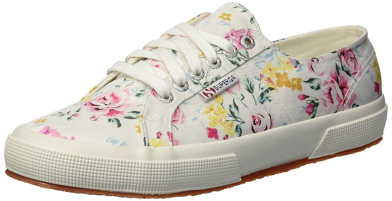 Superga Women's 2750 Satinfantw Sneaker B078KCHRSN 36 M US|Floral Multi