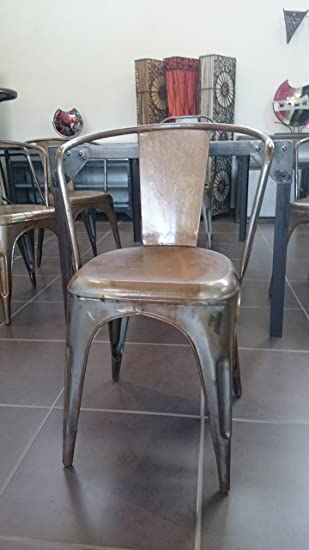 Deco Du Diois Chaise Vintage Industrielle Usine 2