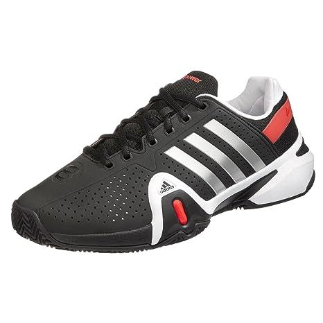 adidas Adipower Barricade 8 Clay lgtscarunwh 7 : Amazon