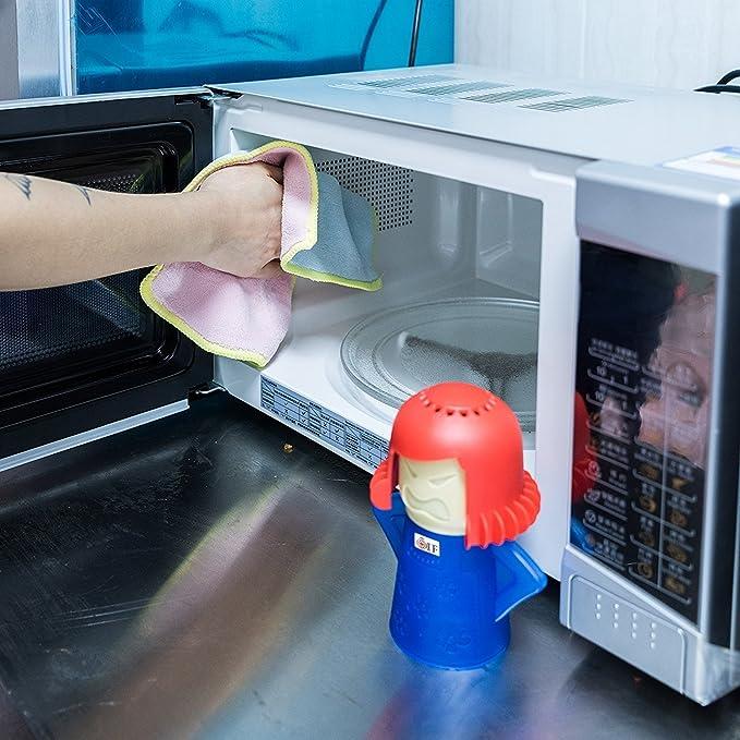 Microondas Horno Limpiador a vapor limpia fácilmente la Crud en ...