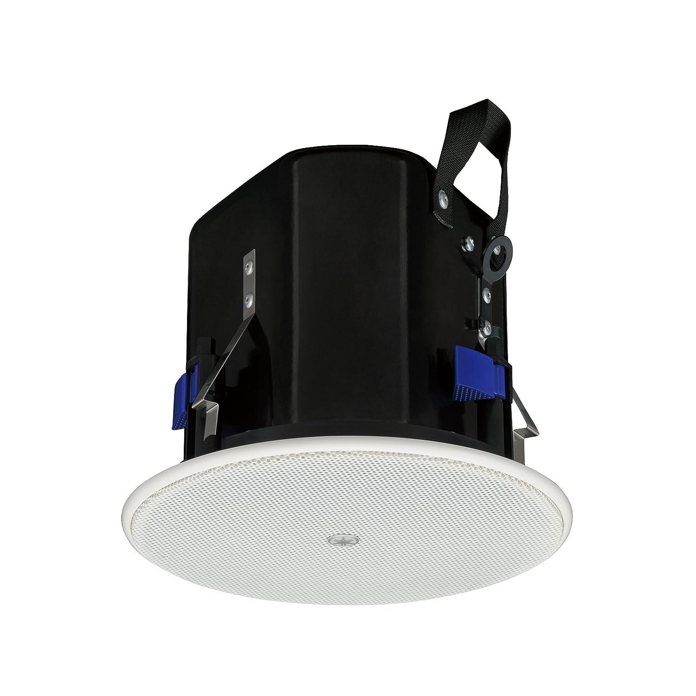 ヤマハ YAMAHA シーリングスピーカー 小型設備用天井埋め込み型 ブラック (1ペア) VXC4 B00ALL184A ホワイト  ホワイト