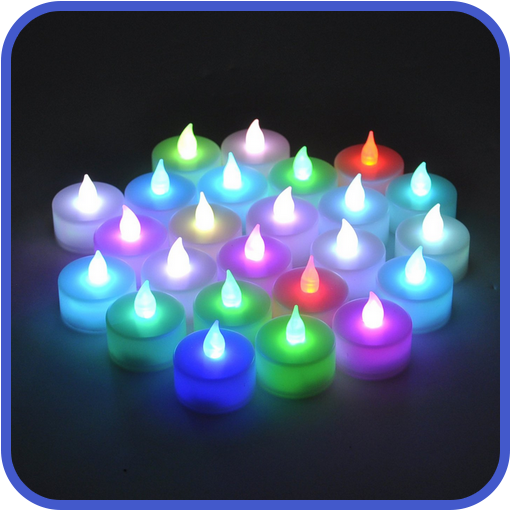 - Flameless Candle Decor