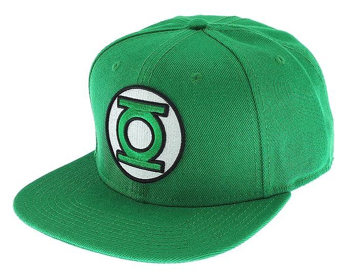 purchase cheap e967a 33bc8 ... closeout green lantern logo snapback cap hat new licensed new dc comics  ad813 0051f