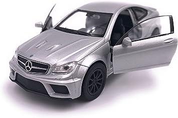 H Customs Mercedes C63 Black Series Modellauto Auto Lizenzprodukt 1 34 1 39 Silber Auto