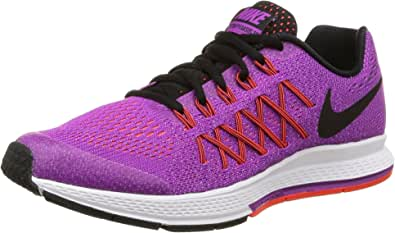 Nike Kids Zoom Pegasus 32 GS Vivid Purple/Black/Brght Crmsn Running Shoe 7 Kids US: Amazon.es: Libros