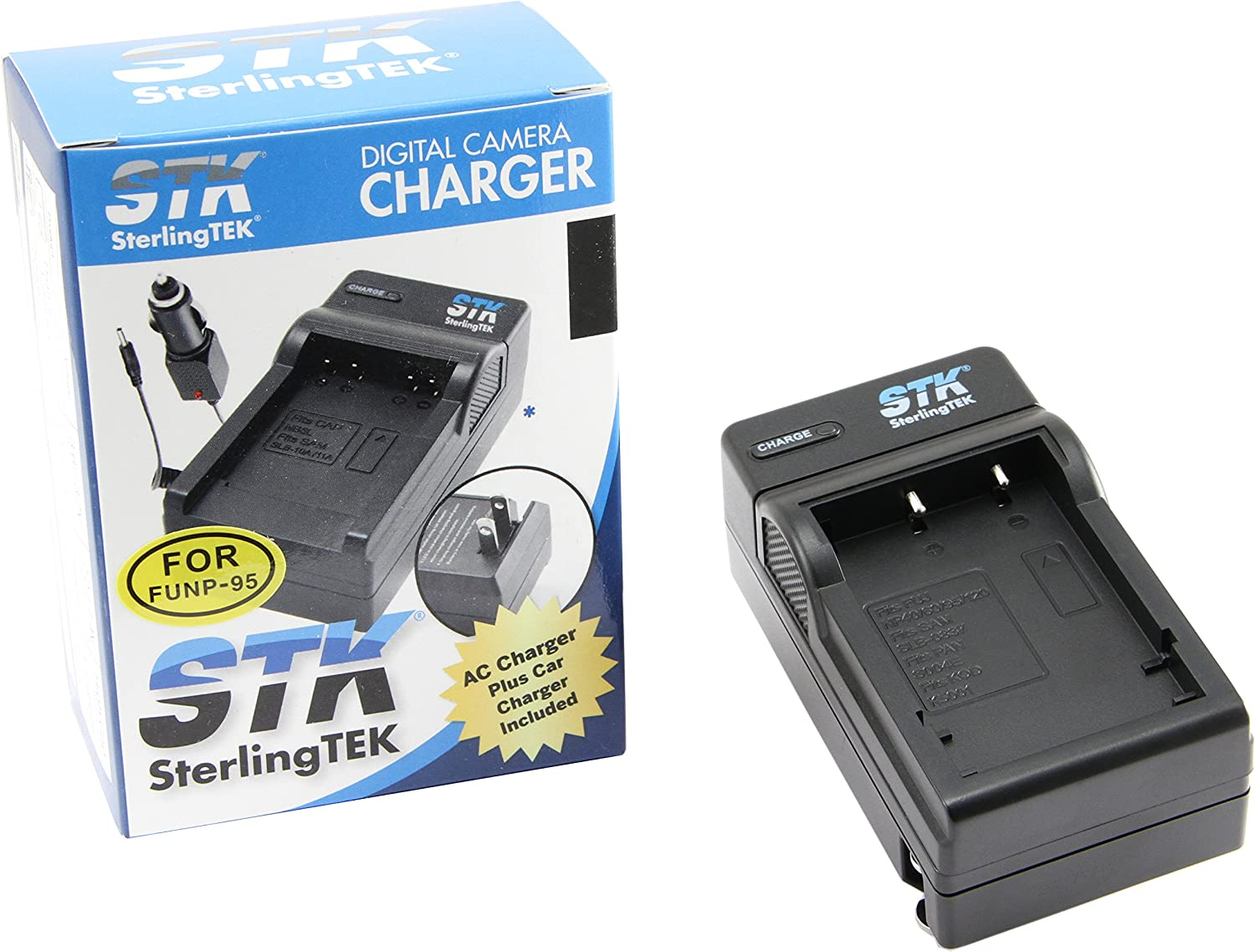 Real 3D W1,BC-65 NP-95 NP95 Battery Charger for Fuji X100,F30,X-S1,F31fd