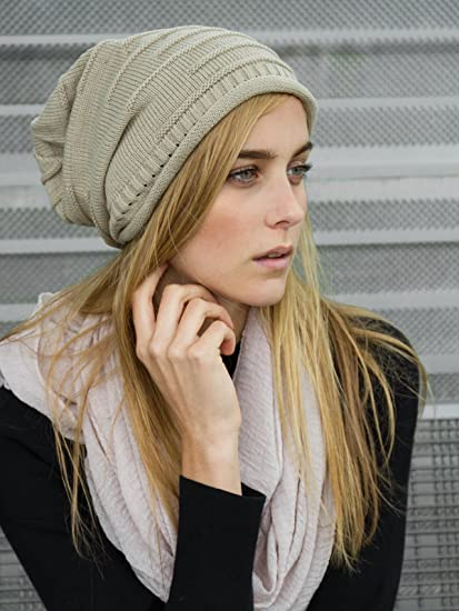 Caspar MU079 Bonnet en tricot classique unisexe