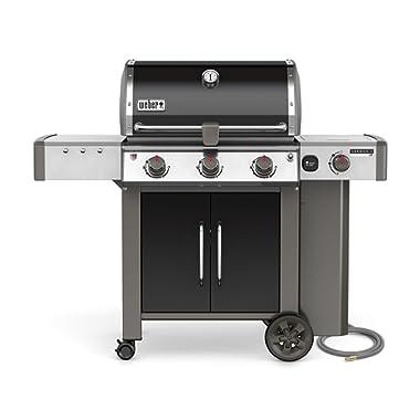 Weber 66014001 Genesis II LX E-340 Natural Gas Grill, Black