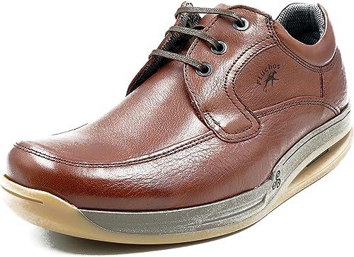 Zapatos Hombre con Cordones FLUCHOS Piel Libano Suela
