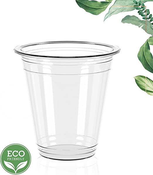 Ecologiware | Vasos transparentes desechables ecológicos | Juego ...