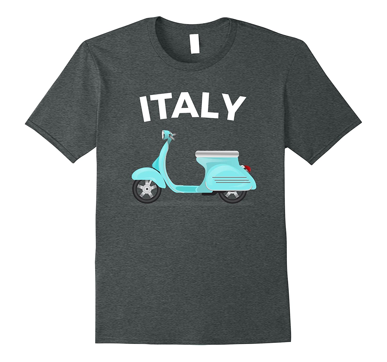 Italy Italian Vintage Scooter Moped T-shirt-Loveshirt