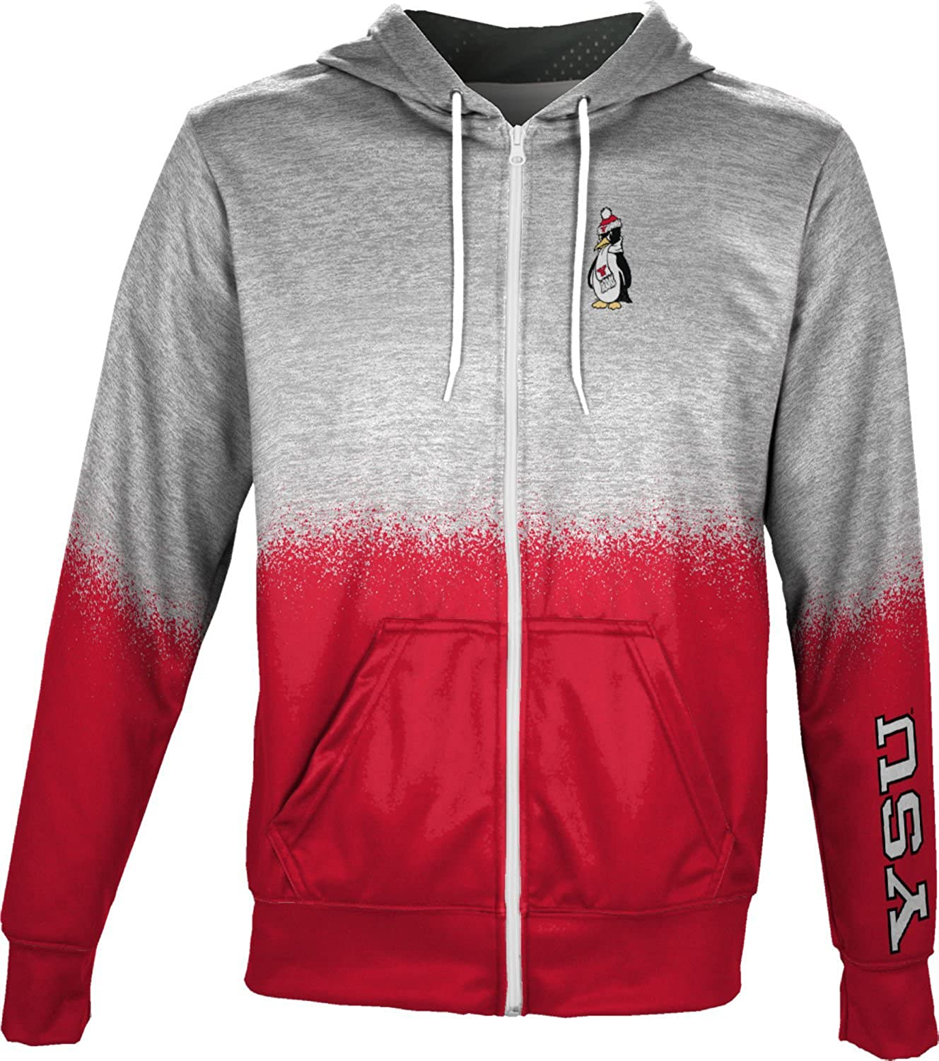ProSphere Youngstown State University Boys Full Zip Hoodie Spray Over