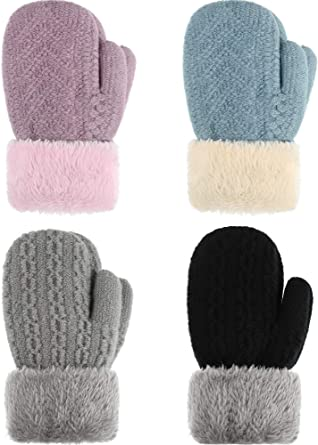 Baby Mittens Mitts Baby Gloves Ribbed Boy Girl