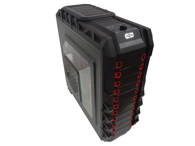 Cortek C10030 Full-Tower Negro Carcasa de Ordenador - Caja ...