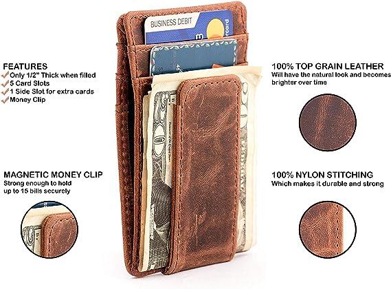 Money Clip ~ Rustic Browns B Money Clip