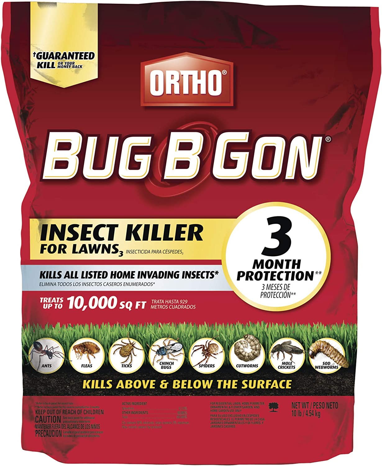 Amazon.com: Ortho Bug B Gon Insect Killer for Lawns3. Número ...